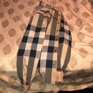 Burberry long sleeve dress shirt